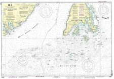 NOAA Chart Grand Manan Channel Southern Part 3rd Edition 13392