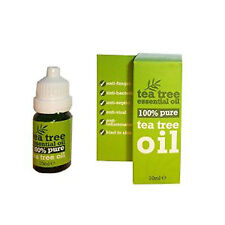 100 % Pure Tea Tree Oil 10ml Antiseptic, Anti Fungal FAST & FREE DELIVERY-=_
