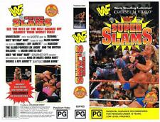 WWF: SUPER SLAMS  {1995} *RARE VHS TAPE*  WRESTLING