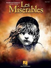 Les Miserables: Vocal  Piano Selections