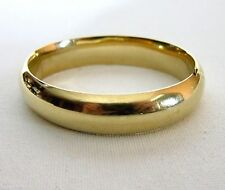 Vintage Estate 14k Solid Yellow Gold Hinged Bangle Beautifully Classic 22 grams
