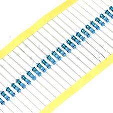 50PCS 1/2W 1% 100ohm 100Ω Metal Film Resistors