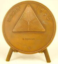 Médaille Floralies internationale de Paris 1964 sc Raymond Joly 68 mm Medal