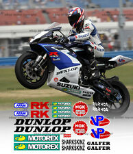 2006 2007 ama race bike track decal kit for gsxr