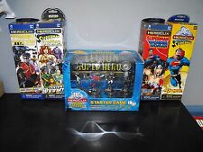 DC HEROCLIX LEGION OF SUPER HEROES STARTER + FOUR BOOSTERS