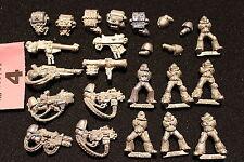 Warhammer 40k Space Marines Devestators Job Lot Metal Figures Games Workshop OOP