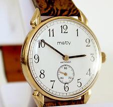 Belle montre mécanique MATY anciennne, Calibre FE 233-68E  - A3