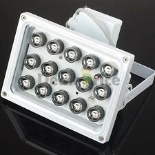 328Ft 15LED IR Illuminator Security Floodlight For Night Vision CCTV Camera USA