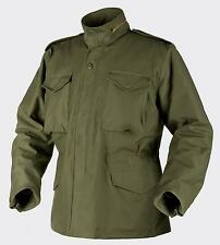HELIKON TEX US M65 Jacket Army Outdoor Parka Jacket olive w Lined LL Large Long