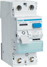 Hager CDS240D Fi-Schutzschalter 2P 40A 30mA A QC ( H63327 )