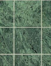 Dollhouse / No-Wax Marble Nile Green Flooring 11-1/2 x 8-3/4 #MH5957