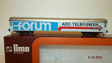 HO LIMA 9921 FORUM AEG TELEFUNKEN BOX CAR  BOXED  (C61)