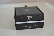 Tateossian London  Rhodium-Plated Mood Mechanical CuffLinks Brand new