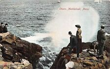 POSTCARD   UNITED  STATES   CHURN  MARBLEHEAD   Mass