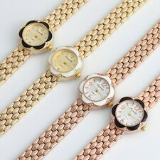4pcs Mixed Bulk Fashion Women Gifts Watch Dress Quartz Bracelet Wristwatch O88m4