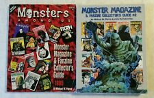 Monster Magazine Collector's Guide Lot of 2