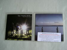 THE YOUNG FOLK job lot of 2 promo CD singles Letters Way Down South