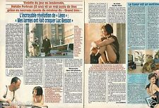Coupure de presse Clipping 1994 Natalie Portman dans Léon  (2 pages)