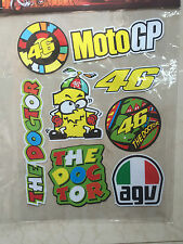 Valetino MotoGP Reflective Sticker Sheet