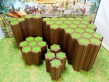 Expand Your Heroscape  Battlefield with 637 hexes of Grass Terrain