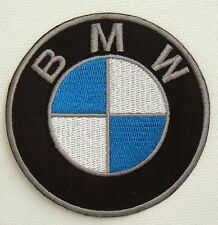 Embroidered BMW Logo Crest  Badge Iron or Sew On Fancy Dress Patch 7.5cm