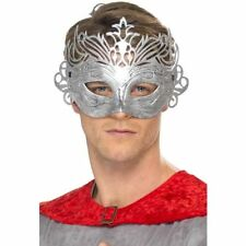 Unisex Columbine Silver Eye Mask Fancy Dress Costume Masquerade Romeo Venetian