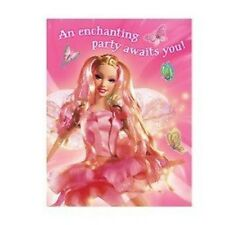 Barbie Fairytopia Birthday Party Invitations 8 Count Fairy