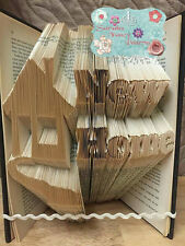 New Home Folded Book Art Folding PATTERN ONLY #540