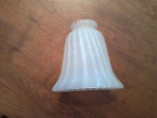 Light Shade Frosted Spiral Glass Ceiling Fan Chandelier Sconce Pendant