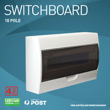 18 Pole Switchboard Surface Mount - 4 Hour Fire Rating