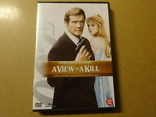 2-DISC ULTIMATE EDITION DVD / JAMES BOND 007 - A VIEW TO A KILL