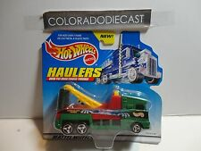 Hot Wheels Haulers Green Monster Arm Towing Truck
