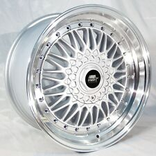 MST MT13 17x8.5 5x100/5x114.3 et35 Silver Wheels Fits Eclipse Impreza Wrx Tc