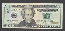 $20 FEDERAL RESERVE NOTES 2013 CHICAGO (MG913251141A) UNC