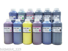 12x500ml pigment refill ink for Canon iPF9000 iPF5100 iPF6200 iPF610 Wide-format
