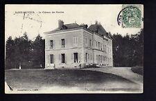 SAINT SAUVEUR Yonne CPA 89 le chateau des gouttes