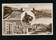 Dogs SCOTTISH TERRIER Essex Clacton-on-Sea 1952 M/view RP PPC