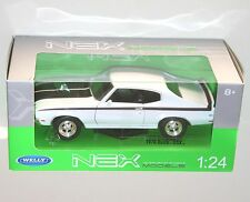 Welly - BUICK GSX 1970 (White) - Die Cast Model Scale 1:24