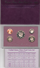 1988 S US Proof Set Original Mint Packaging with Specifications card