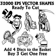 32000 Vector Vinyl Plotter Cutter Over 2GB Image files eps Digital Download Only