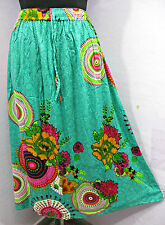 Fab Summer Printed Hippie Long Skirt Boho Beach Size 8 10 12 14 16 18 20