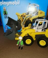 playmobil city action large front loader digger