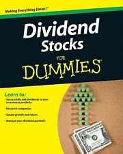 Dividend Stocks For Dummies, Carrel, Lawrence, Acceptable Book