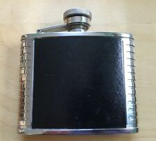 hip flask stainless steel 4oz Very Good Condition