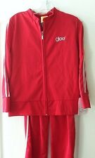 GLEE COSTUME RED TRACK SUIT SUE GYM TEACHER ATHLETIC COACH COSTUME New