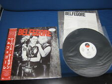 Belfegore Japan Promo Label Vinyl LP with OBI Goth Synth Nichts DAF