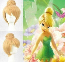 New 2017 Disney Tinker bell Blonde Style Cosplay Wigs Cos Wig Free Shipping