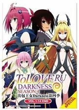 To Love Ru : Darkness (Season 4) DVD ( Vol. 1 - 14 End) with English Subtitle