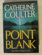 Point Blank Catherine Coulter Hardback Large Print 2005 Double Day Home Library