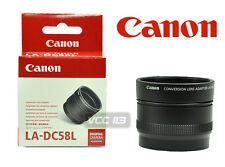 CANON LA-DC58L LENS ADAPTER Lens Adapter for Powershot G15 G-15 6927B001